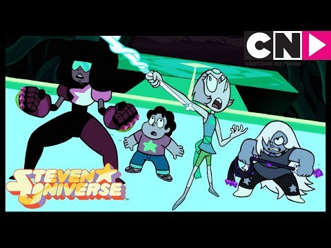 Steven Universe | The Crystal Gems, The Guardians Of Earth Fight Peridot | Cartoon Network