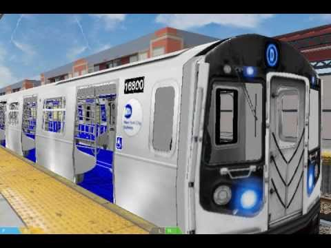 Openbve Enter The R213 Of Nycta Youtube