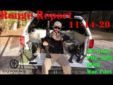 Range Report, 11-14-20