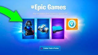 The new items and Skins for free at Fortnite Season 8...
