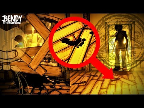 Bendy's Mysterious Footprints EXPLAINED! (Bendy & the Ink Machine Theories)