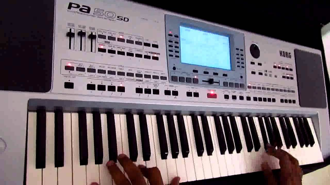 Piya O Re Piya Piano Keyboard Cover By Hiren Padia On Korg Pa50 Sd