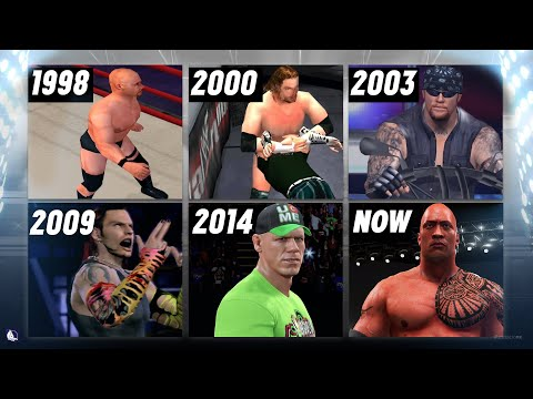 A Visual History of WWE Video Games on...