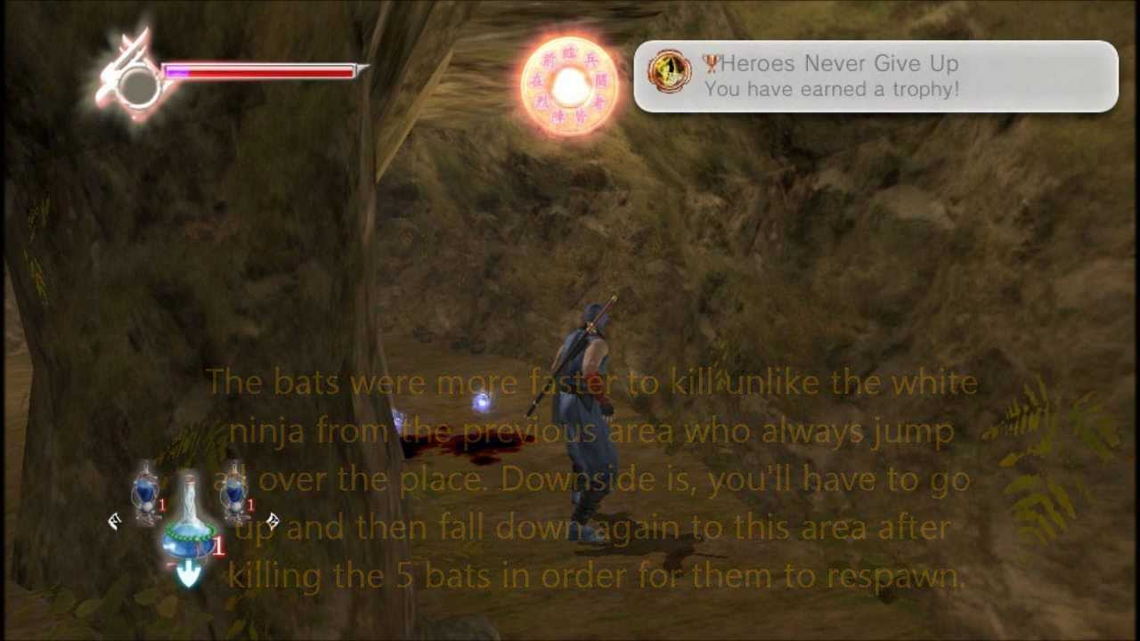 Ninja Gaiden Sigma Plus How To Get Heroes Never Give Up