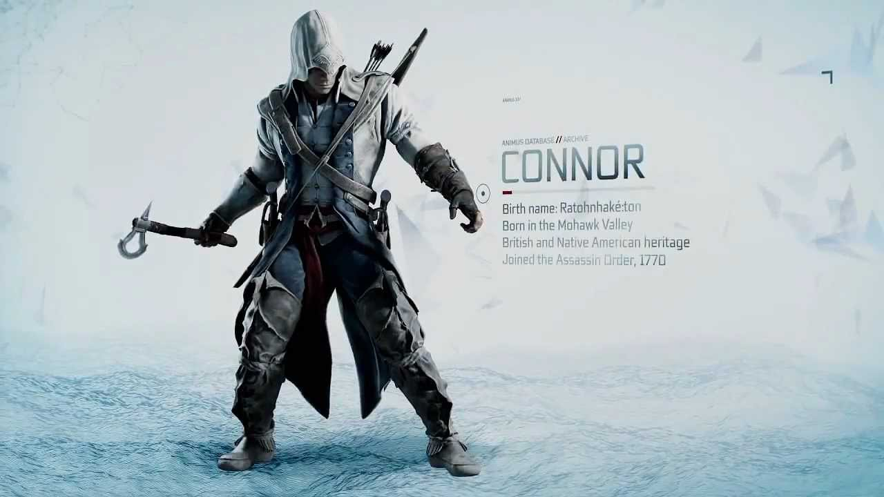 Assassin S Creed 3 Connor S Weapons Trailer And New 3 Editions