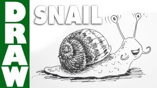 Draw a Slimy Squishy Snail!