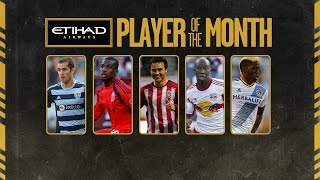 Etihad Airways Player of the Month Nominees: July