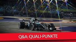 Sollte es Punkte fürs Qualifying geben? - Formel 1 2018 (Q&A)