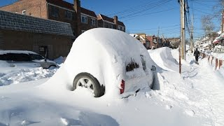 Winter Storm Jonas Hits New York - VLOG #1