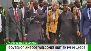 Alistair Soyode  and Tokunbo Mumuni speak on Theresa May's visit to Nigeria