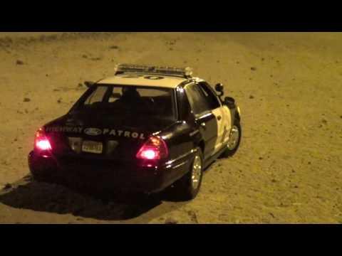 "1/18 Ford Crown Victoria California Highway Patrol ""Cali Watchdog"""