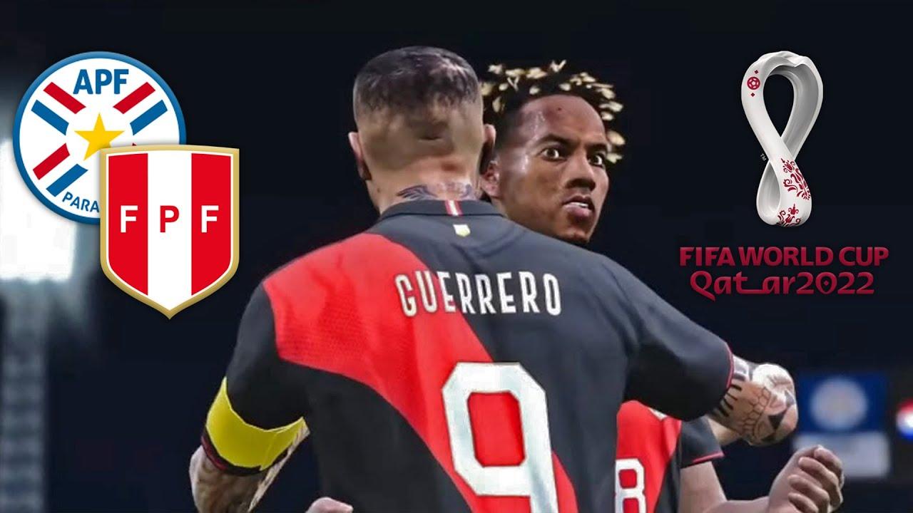 Paraguay Vs Peru Eliminatorias Qatar 2022 Simulacion Partido Completo Pes Peruvian Patch 2020 Youtube