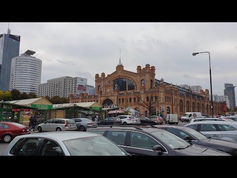 Walking Warsaw through the market