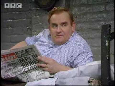 Changing attitude - Porridge - BBC classic comedy