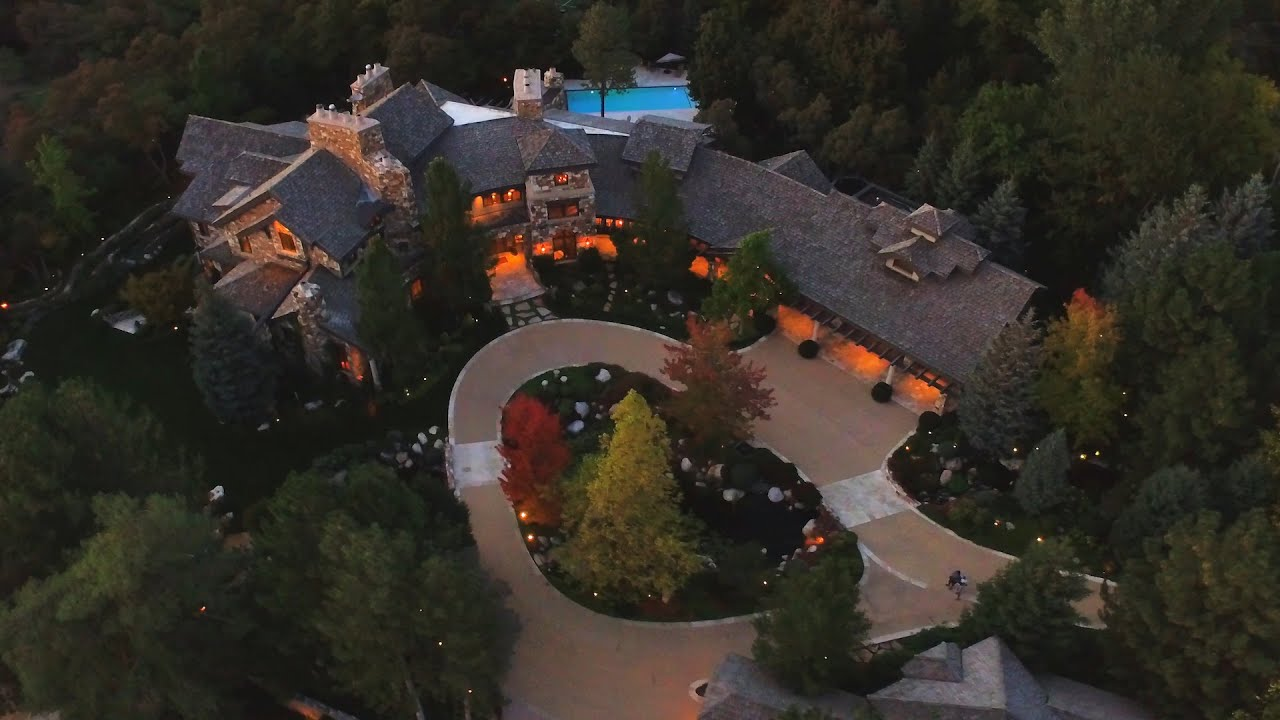 Amazing 11 Million Dollar Home Virtual Tour With Drone