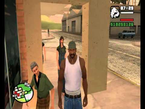 GTA San Andreas funny stuff & epic fails
