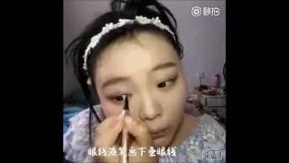 Vịt hóa thiên nga sau khi make up hướng dẫn trang điểm make up cho phụ nữ