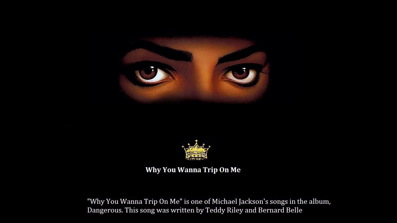 Download Michael Jackson Why You Wanna Trip On Me Acapella (STUDIO)