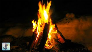 12 HOURS of Relaxing Fireplace with Crackling Fire Sounds - Burning Fireplace (NO MUSIC)