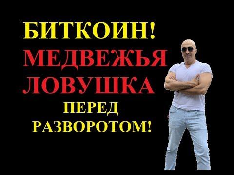 БИТКОИН! ЛОВУШКА  ПЕРЕД РАЗВОРОТОМ!