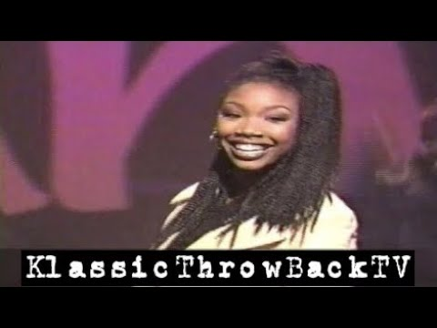 "Brandy - ""Best Friend"" Live (1995)"