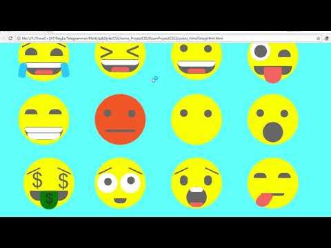 T3: EMOJIS: USING HTML &  CSS