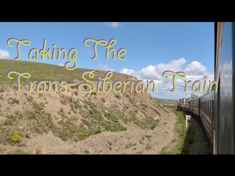 Taking The Trans Siberian Train