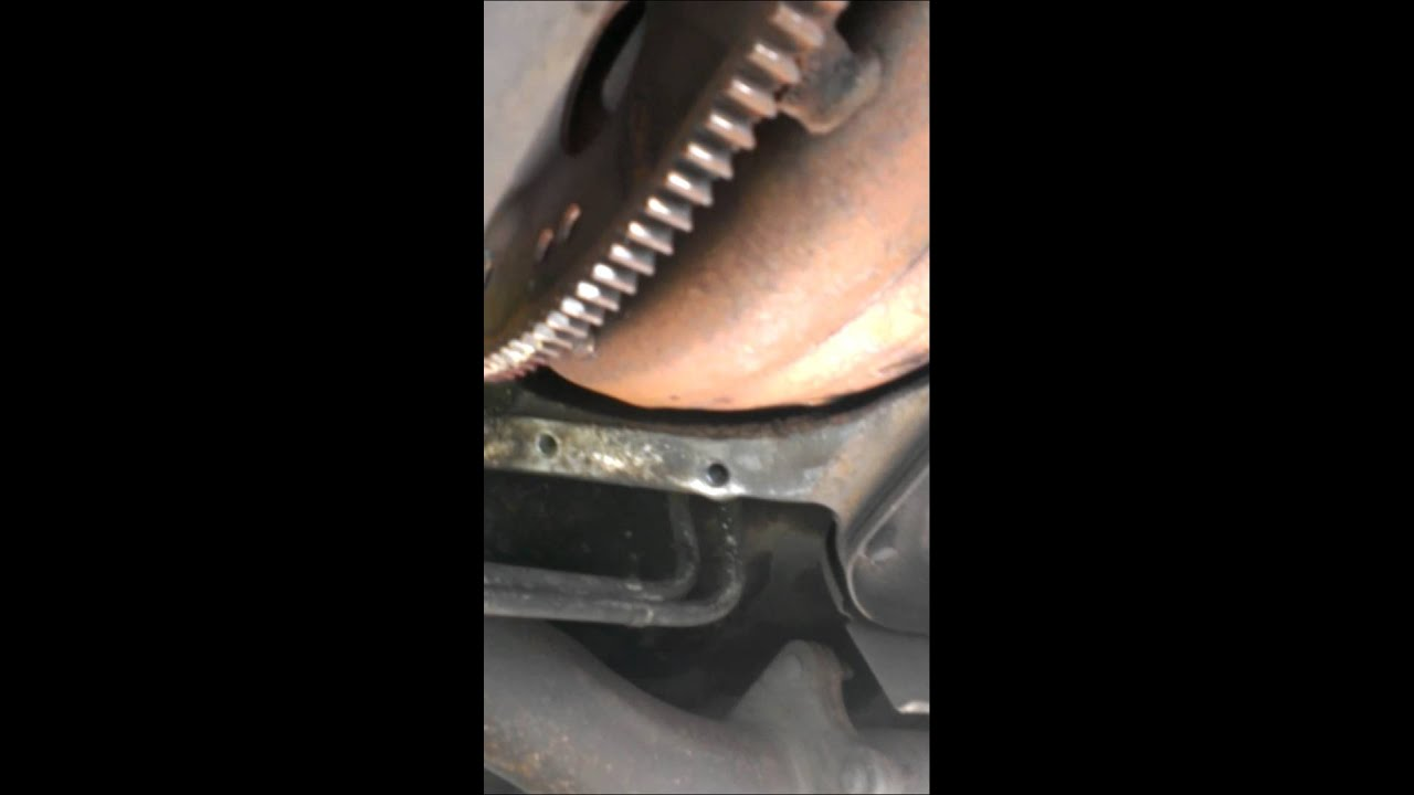 Chevey 6 5l with bad flywheel