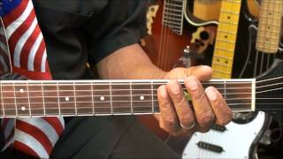 Roy Orbison OH PRETTY WOMAN How To Play ON Guitar Lesson EricBlackmonMusicHD