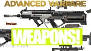 ADVANCED WARFARE 350 WAFFEN BESTÄTIGT!! (COD AW Multiplayer Create a Class Gameplay)