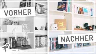 IKEA Billy Regal AUSMISTEN – Bücher, DVDs und Deko #nurwasichmag