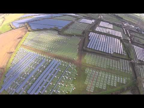 Solar Farm Cambridge Glos UK