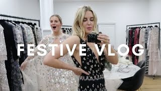 FESTIVE VLOG: BALL GOWN TRY ON, DRAG RACE SHOWS & CHAMPAGNE TASTING || STYLE LOBSTER
