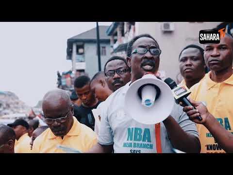 Power Belongs To The People - NBA Ikeja Sensitize Lagosians