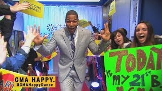 'GMA' Puts the 'Happy' in Your Morning