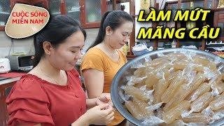 Cách làm mứt tết: Mứt Mãng Cầu (đón tết Việt Nam 2019) #namviet