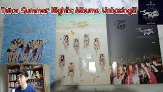 트와이스 TWICE Summer Nights Album All Versions Unboxing!!!