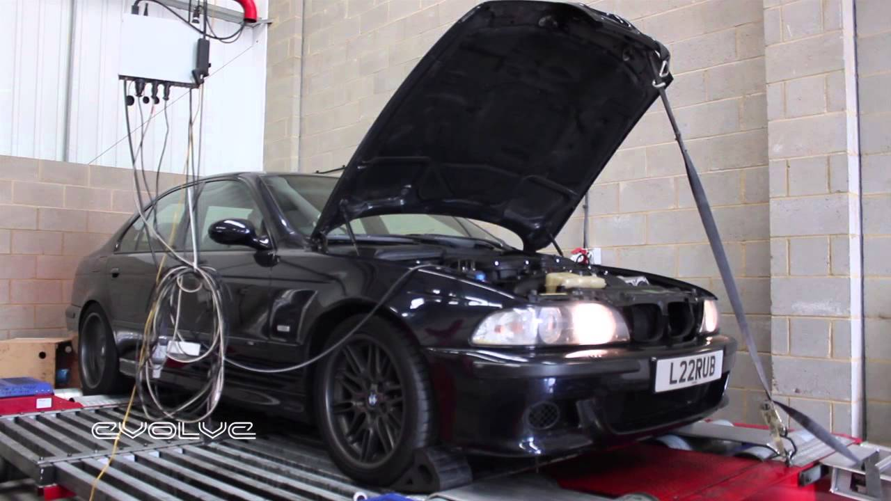 Evolve Stage 2 Intercooled Supercharger Bmw E39 M5 Dyno