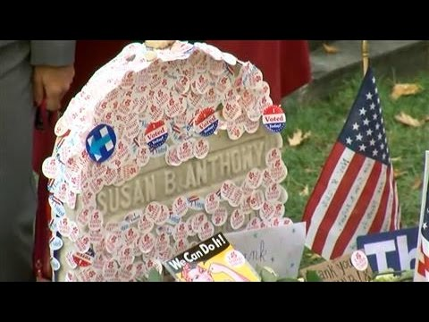 Voters Commemorate Susan B. Anthony on Election Day