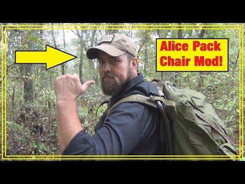 A.L.I.C.E. Pack Chair Hack!