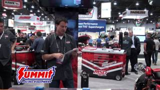 MSD Brainwave Vehicle Management System - SEMA 2013