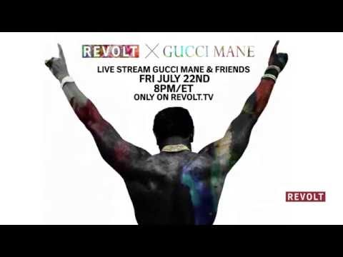 REVOLT.TV To Exclusively Live Stream Gucci Mane's Homecoming Concert