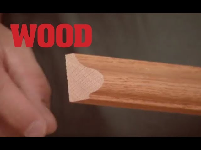 How To Cope Molding For Inside Corners Wood Magazine Youtube
