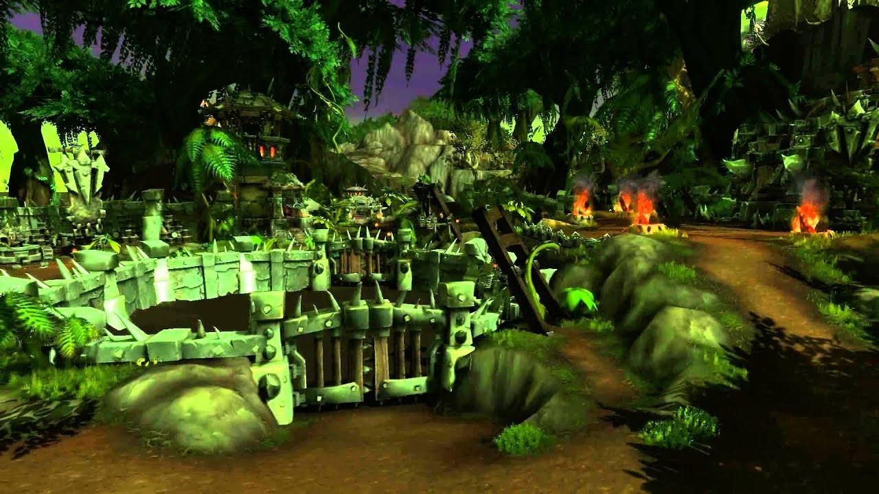 Jungle Wallpaper World Of Warcraft: Warlods Of Draenor Tanaan Jungle