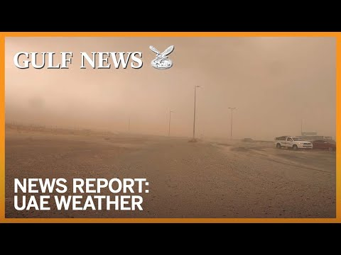 UAE weather: Dusty skies, chance of rain in Dubai, Sharjah