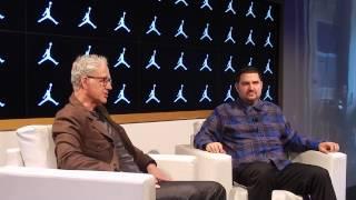 Tinker Hatfield talks design and brand history at the Jordan Flight Lab  Part 5