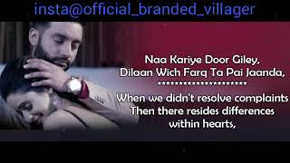 Bekadra Sippy Gill Sad song lyrics video for whatsapp status(1)