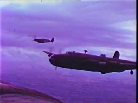 Handley Page Halifax In Colour