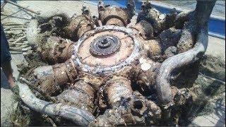 Ngư dân Nghệ An vớt được khối kim loại có hình thù lạ dưới đáy biển