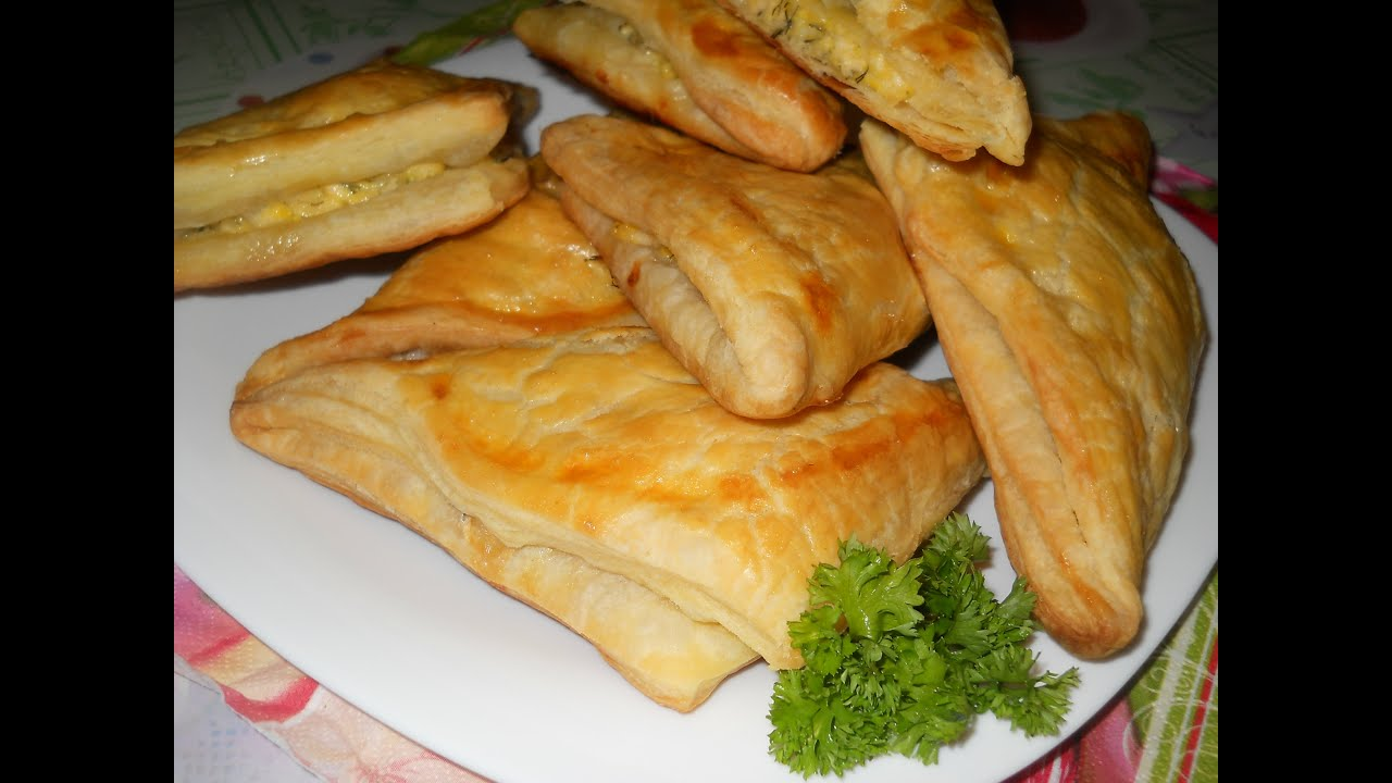 слоеный хачапури с сыром рецепт